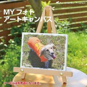 MYフォト アートキャンバス&イーゼルセット【オーダーメイド】 petgp