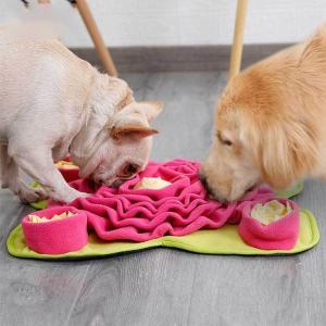 訓練毛布 餌マット 嗅覚訓練 ストレス解消 ノーズワーク 運動不足 ペット用品 集中力向上 ペットおもちゃ 性格改善 遊び場所 犬猫兼用 知育玩具 送料無料|pethouse