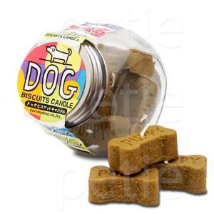 ペット仏具  ドッグビスケットキャンドル ペット供養ろうそく 犬用|petie