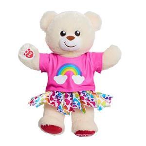 ビルド・ア・ベア レインボー ファッション テディベア 40センチ お洋服は着脱可能 Build-a-Bear Workshop Rainbow Fashion Teddy Bear [並行輸入品] petit-bonheur1