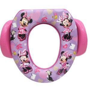 ディズニー ミニー マウス ソフト便座 幼児用 補助便座 おまる トイレトレーニング [並行輸入品]|petit-bonheur1