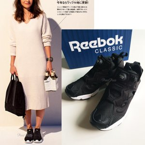REEBOK(リーボック)INSTAPUMP FURY OG Reebok CLASSIC/インスタポンプ/ブラック|petit-petit