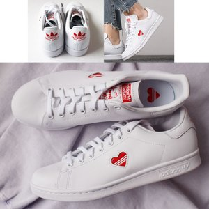 Adidas アディダス オリジナルス スタンスミス stan smith G27893 WHT/RED ハート|petit-petit