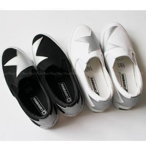 Converse(コンバース) SKIDGRIP BS SLIP-ON スター柄 スリッポン[モノトーン/シルバー星]|petit-petit