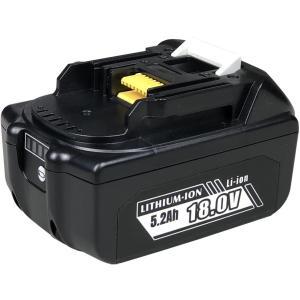 マキタ18V電動工具用BL-1860B互換バッテリー 日本メーカーによる保証とサポート 電池残量表示機能 自己診断機能付き 通常版:6000mAh|petite-marche-tech