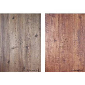 STUDIO-STYLE フォトスタイリングボード (写真撮影用背景ボード)<スタンダード木目> (Lサイズ, 木目)|petite-marche-tech