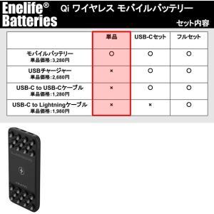 【Qiワイヤレス充電 PD急速充電 対応 大容量10000mAh モバイルバッテリー 】<吸盤密着タイプ> 1年保証とサポート PSE認証済(カラー:ブラック)|petite-marche-tech|04