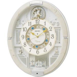 セイコー ウェーブシンフォニー電波正時メロディ掛時計 掛時計 RE576A 快気祝い|petitpresent