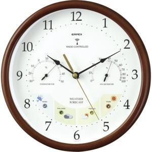 エンペックス ウエザーパル電波時計 BW-873 掛時計 壁掛け時計 電波時計 電波壁掛け時計 お礼 御祝い お返し ご挨拶 ギフト|petitpresent
