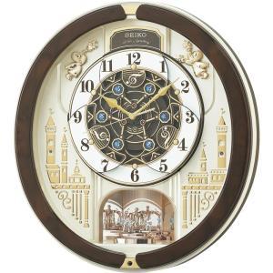 敬老の日 セイコー ウェーブシンフォニー 電波からくり時計 RE579B 掛時計 お礼 御祝い お返し ご挨拶 ギフト|petitpresent