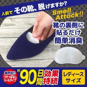 靴 消臭 抗菌 スメルアタック レディース 一足分 2個入り 左右用 天然 由来 成分 Smell Attack!! ポイント消化|petittomall