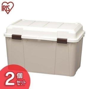 収納ボックス おしゃれ フタ付き 2個セット ワイドストッカー 屋外 物置 屋外収納 ベランダ 収納 保管 WY-780 アイリスオーヤマ|petkan