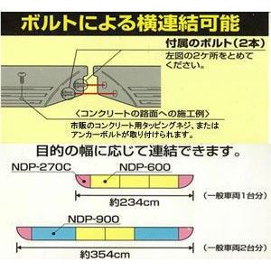 段差プレート 段差スロープ NDP-600 アイリスオーヤマ 車庫 ガレージ|petkan|03