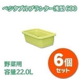 プランター 鉢 家庭菜園 浅型 6個セット アイリスオーヤマ