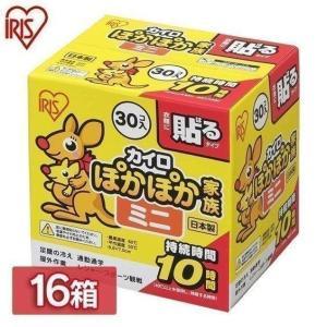 カイロ ミニ 貼る ぽかぽか家族 貼るタイプ ミニサイズ PKN-30HM 30P 480個(30個...