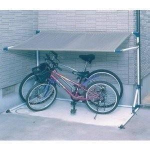 物置 サイクルポート サイクルガレージ 自転車置き場 2台用 省スペース 屋根 家庭用 CG-1000 アイリスオーヤマ|petkan
