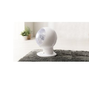 扇風機  サーキュレーター 18畳 ボール型左右首振り ホワイト サーキュレーターアイ 強力コンパクトサーキュレーター PCF-SC15 アイリスオーヤマ|petkan|03