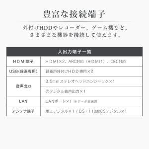 テレビ 40型 本体 液晶テレビ 新品 アイリスオーヤマ フルハイビジョンテレビ 40インチ 40FB10P|petkan|11