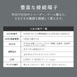 テレビ 50型 50インチ 液晶テレビ 新品 アイリスオーヤマ 4K対応液晶テレビ 50インチ ブラック 50UB10P:予約品|petkan|11