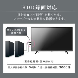 テレビ 50型 50インチ 液晶テレビ 新品 アイリスオーヤマ 4K対応液晶テレビ 50インチ ブラック 50UB10P:予約品|petkan|08