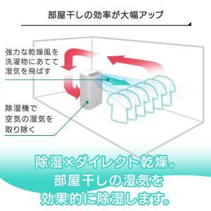 除湿機 コンプレッサー式 衣類乾燥 アイリスオーヤマ 部屋干し 梅雨 湿気 結露 除湿 対策 DCE-6515 アイリスオーヤマ サーキュレーター ファン 家庭用|petkan|07
