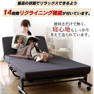 折りたたみベッド  シングル 高反発 OTB-KR アイリスオーヤマ ベッド 送料無料 安い 新生活 ベット 介護|petkan|05