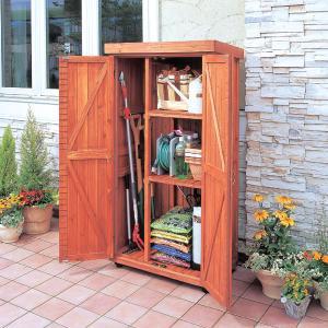 物置 屋外 おしゃれ 大型 木製物置 WSR-1600 アイリスオーヤマ|petkan|02