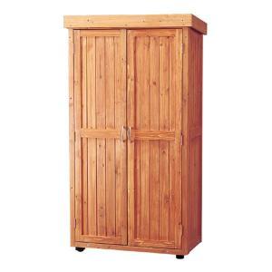 物置 屋外 おしゃれ 大型 木製物置 WSR-1600 アイリスオーヤマ|petkan|03