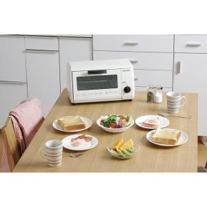 オーブントースター オーブン トースター おしゃれ あたため シンプル コンパクト OTR-86 ホワイト アイリスオーヤマ(あすつく)|petkan|02