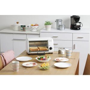オーブントースター オーブン トースター おしゃれ あたため シンプル コンパクト OTR-86 ホワイト アイリスオーヤマ(あすつく)|petkan|03