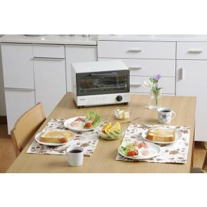 オーブントースター オーブン トースター おしゃれ シンプル あたため OTR-100 ホワイト アイリスオーヤマ(あすつく)|petkan|02