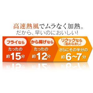 ノンフライ アイリスオーヤマ リクック スチーム リクック熱風オーブン シルバー FVX-M3B-S アイリスオーヤマ|petkan|05