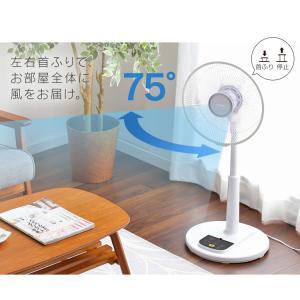 扇風機 おしゃれ 安い アイリスオーヤマ リビング リモコン リビング扇風機 リビング扇 ACモーター LFA-306(あすつく)|petkan|13