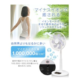 扇風機 おしゃれ 安い アイリスオーヤマ リビング リモコン リビング扇風機 リビング扇 ACモーター LFA-306(あすつく)|petkan|05