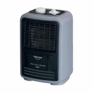 ミニファンヒーター(温調付) TSO-602 ホワイト TEKNOS ホット
