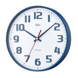 小振りなサイズと、シックなカラーリングがおしゃれな掛け時計です♪ 連続して滑らかに動く、音の静かな連...
