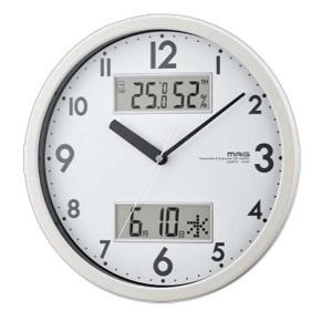 温度や湿度、カレンダーなど、日常生活に便利な情報を時刻と同時にデジタル表示する掛け時計です♪ 連続し...