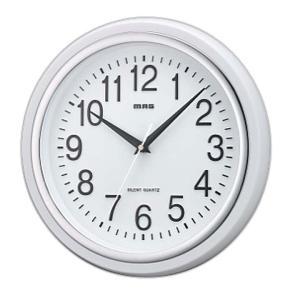 シンプルなカラーリングと、ベーシックなデザインの掛け時計です♪ 連続して滑らかに動く、音の静かな連続...