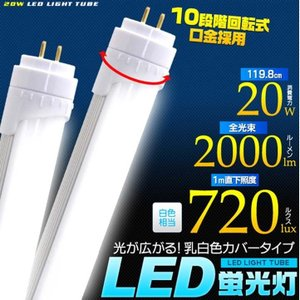ラピッド2灯器具専用LED蛍光灯 lk045|petkan