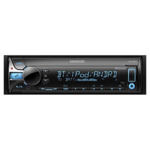 KENWOOD 1DINオーディオデッキ(CD/USB/iPod/Bluetooth) U410BT カー用品 車用 車載用品 カーオーディオデッキ petkan