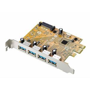 USB3.0対応 PCI Express用インターフェースボード US3-4PEX アイ・オー・データ機器