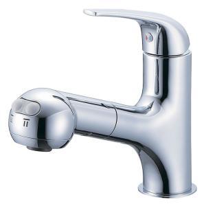 シングルスプレー混合栓(洗髪用) K3703JV-13 三栄水栓