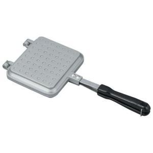 サクッとふんわりホットサンドメーカー IH対応 シルバー 6419 コーベック (D)