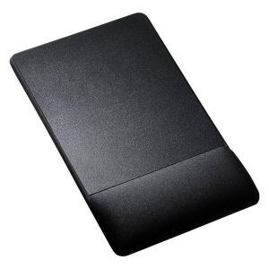 リストレスト付きマウスパッド(布素材、高さ高め、ブラック)  MPD-GELNHBK サンワサプライ (TC)|petkan