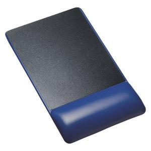 リストレスト付きマウスパッド(レザー調素材、高さ高め) MPD-GELPHBL サンワサプライ (TC)|petkan