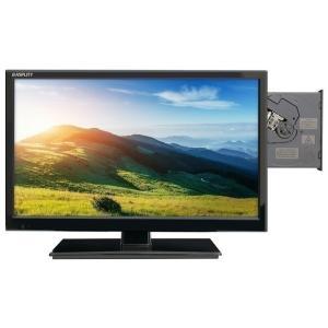19型DVD内臓地上デジタル液晶テレビ ブラック 19DTV-01 エスキュービズム (D)