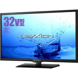 32V型 地上デジタルハイビジョン液晶テレビ(外付けHDD録画対応) 1波 WS-TV3259B NEXXION (D)