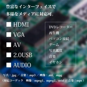 RAMASU LEDプロジェクター ブラック RA-P1200 池商 (D)|petkan|05