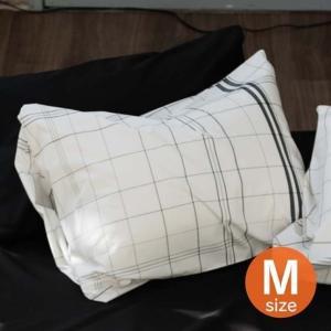 枕カバー おしゃれ モノチェック ピローケース(封筒式) M FH112168-111 Fab th...