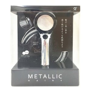 節水シャワーセット レイニーメタリック ブラック PS303-CTMA-CD 三栄水栓 (D)|petkan